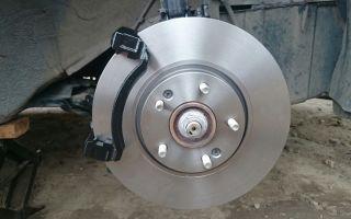 Замена тормозных дисков на Хендай Солярис