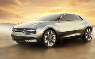 Концепт Imagine by Kia – это электрический кроссовер-купе от Kia