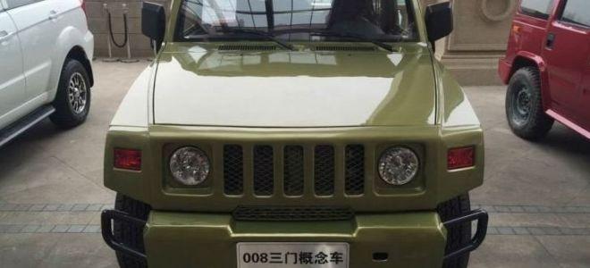BAIC 008 новый китайский внедорожник