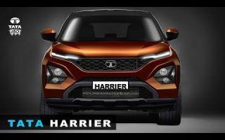 Tata Harrier – новое авто от индийского производителя Tata Motors