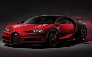 Bugatti Chiron Sport (2019). Новый Бугатти Широн Спорт