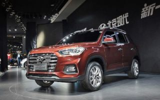 Hyundai ix35 2017 — 2018. Скоро увидимся