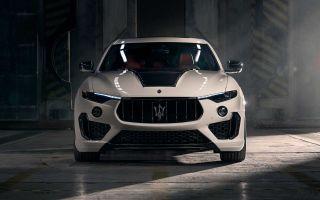 Maserati Levante Trofeo попал в руки специалистов Novitec