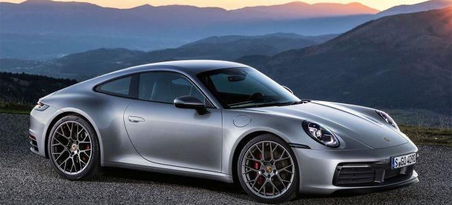 Новый Порше 911 2019 — спортивный автомобиль new Porsche 911 2019