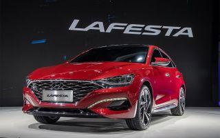 Hyundai Lafesta в новом спортивном облике