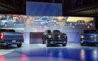 Chevrolet представил новую генерацию Chevrolet Silverado
