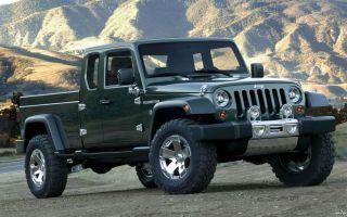 Джип Гладиатор – новое авто от американского автопроизводителя