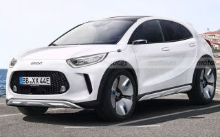 Smart eSUV — конкурет Twingo ZE или BMW i3 и Hyundai Kona Electric?