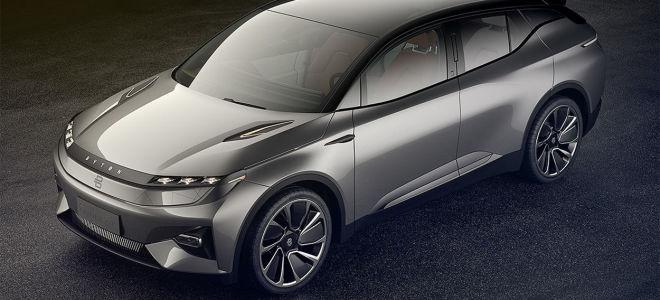 Byton Crossover Concept – электрическая новинка от нового бренда
