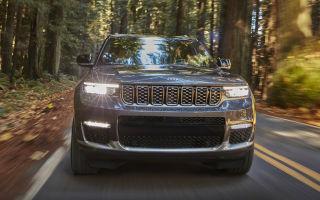 Новый Jeep Grand Cherokee 2021