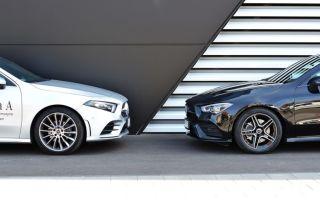 Тест Mercedes CLA feat A-Class Sedan
