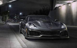 Chevrolet Corvette ZR1 2018-2019 – спорткар будущего поколения