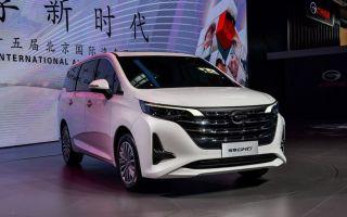 GAC Trumpchi GM6 — новое авто из Китая с салоном типа Мерседес