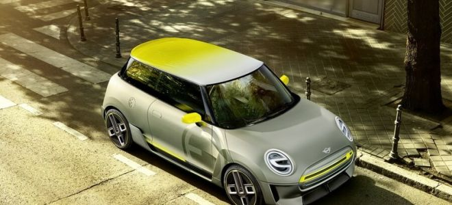 MINI Electric Concept обзор нового электрокара МИНИ
