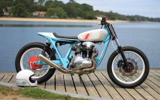 Мотоцикл Кавасаки W650 от Hombrese Bikes