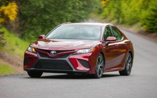 Toyota Camry комплектации и цена седана
