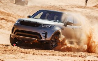Тест-драйв Land Rover Discovery 5