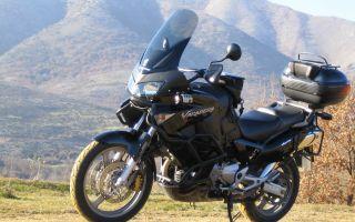 Знакомство с мотоциклом honda xl1000v varadero