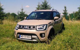 Suzuki Ignis CVT test — микрокроссовер с автоматом