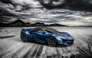 Спорткар Fenyr Supersport от W Motors