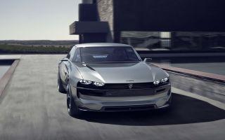 Peugeot e-Legend Concept – Пежо Концепт, электрокар с автопилотом