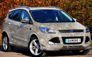 Самый дорогой тюнинг Ford Kuga с кристаллами Swarovski