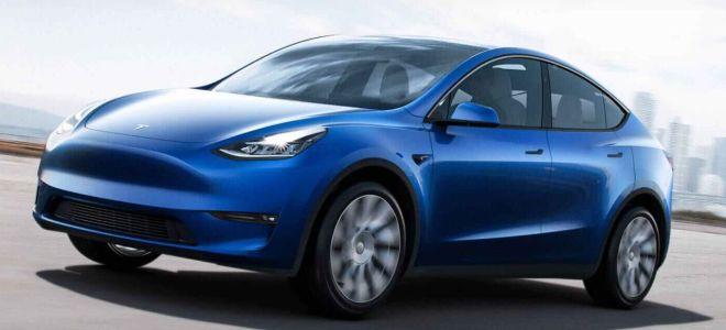 Третий ряд сидений в Tesla Model Y