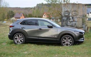 Mazda CX-30 Test — (не) обычный серый внедорожник