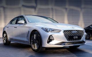 Hyundai представил новый спортивный седан Genesis G70
