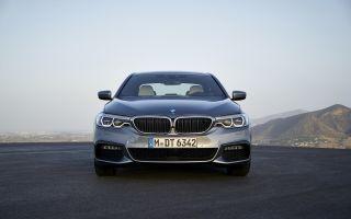 Новый BMW 5 серии из BMW 7 серии