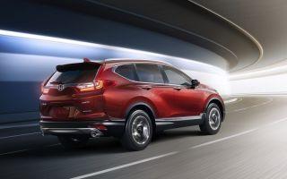 Honda CR-V –  обновленный кроссовер
