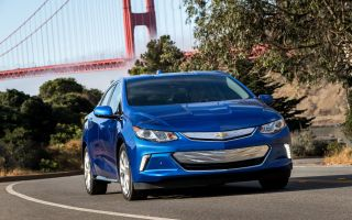 Chevrolet рассекретил гибридный ChevroletVolt нового поколения