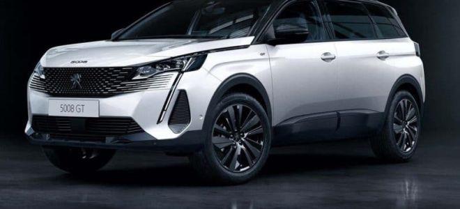 Семейство Peugeot 5008 2021 в новой версии с фейслифтингом