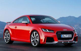 Audi TT RS 2017 комплектации и цена
