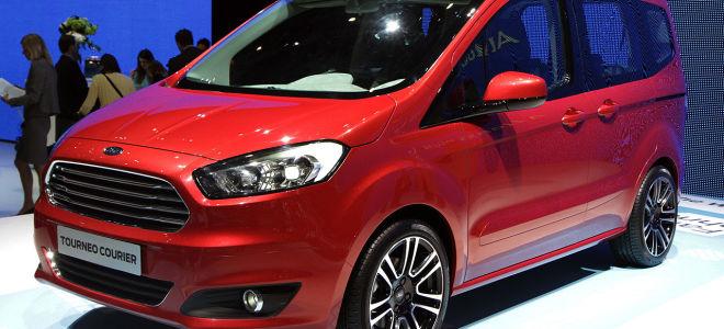 Ford Tourneo Courier не претерпела серьезных изменений