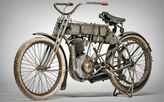 Мотоцикл Harley-Davidson 1907 года