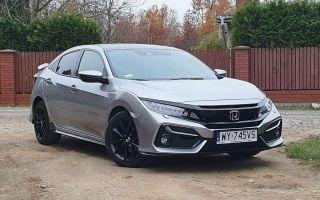 Honda Civic Sport Line 1.0 — Спорт и уменьшение габаритов?
