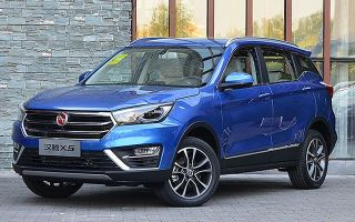 Hanteng X5 2017-2018 характеристики, цена нового паркетника от Zotye