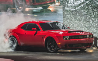 Dodge Challenger SRT Demon – производство, конвейер, сборка Додж Челленджер