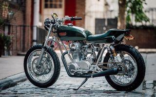 Yamaha XS 650 от Билла Бекера
