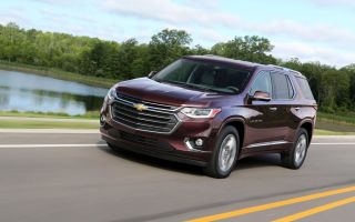 Chevrolet Traverse фото, обзор, цена