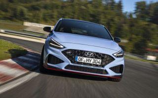 Представлен Hyundai i30 N после фейслифтинга 2021 г.