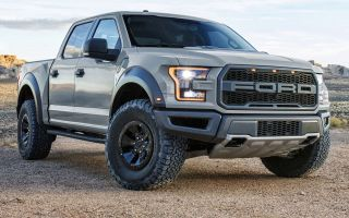 Злой Ford F-150 Raptor 2018, новый пикап для бездорожья