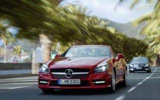Рейтинг автомобилей : 4-5 летние – Mercedes SLK лучший