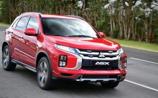 Мицубиши ASX — новая модель кроссовера от японского автопроизводителя