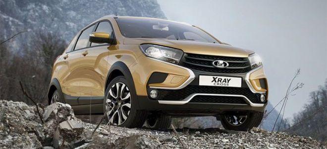 Lada Xray Cross серийная версия вышла в свет