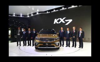 Новый кроссовер Kia KX7