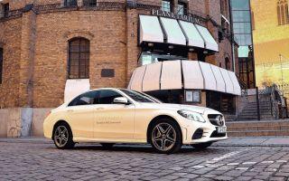 Mercedes C200 EQ Boost 4Matic — классический седан премиум класса
