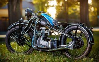 О мотоцикле BMW R35