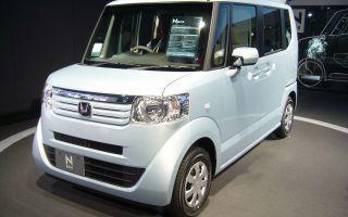 Honda N Box микровэн нового поколения